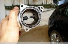 Limpieza de la válvula EGR en el motor TDI 105