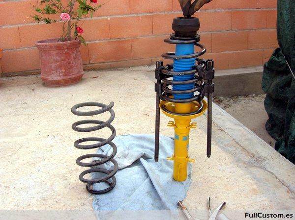 What Is Suspension In Car >> Cambio de los amortiguadores y muelles en Seat León I ...
