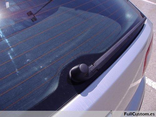 Limpia trasero del Skoda Fabia montado en el Seat León