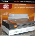 Switches D-Link DGS-1008D