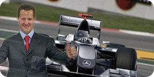 Michael Schumacher vuelve a la Fórmula 1