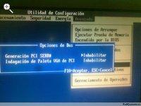 Generación PCI SERR#