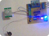 Luz por detector de movimiento y crepuscular Senpir