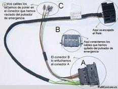 Descripción de los componentes del kit ref. 000 998 229 A