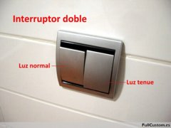 Interruptor doble Niessen