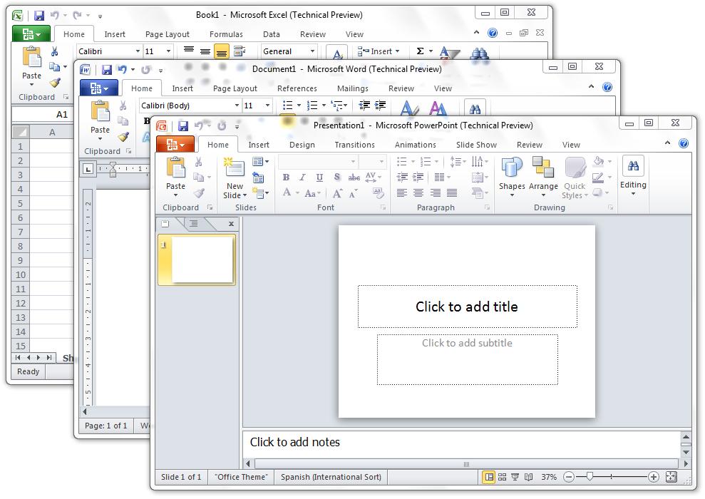 Office 2010 gratis con publicidad