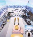 Aseo japonés con salto de ski...