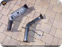 Montaje de un Supresor Bastuck para Honda Civic Type R