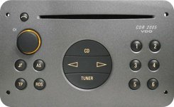 Truco para introducir el código SAFE para radios Opel