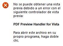 Vista previa de PDFs en Windows 7 64bits